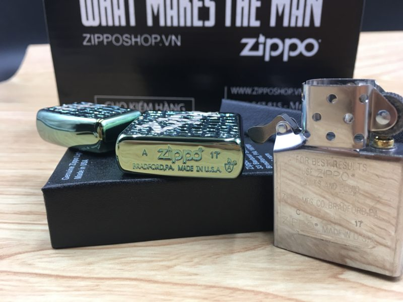 Zippo 29525 - Zippo Alligator Armor® Chameleon 12