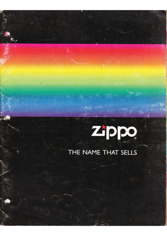 ZIPPO CATALOG 1991 – 1992 COMPLETE LINE COLLECTION