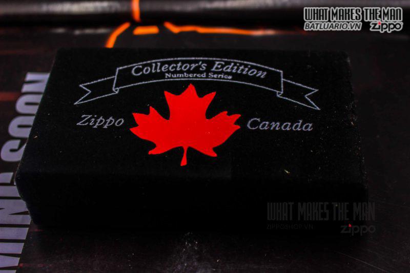ZIPPO COTY 2002 CANADA – SILVER PLATE 3