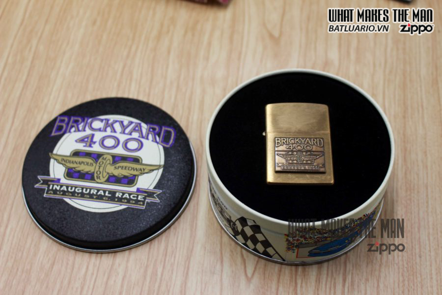 ZIPPO SET Indianapolis Motor Speedway Indy 500 & Brickyard 400 3