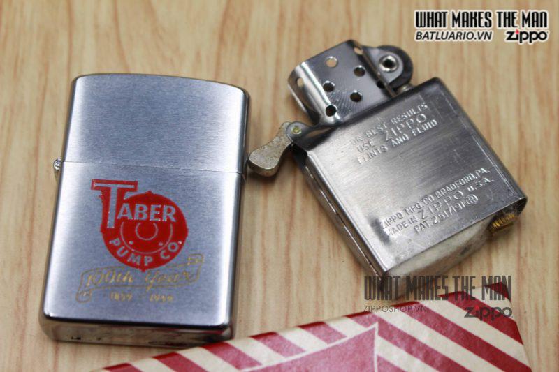 ZIPPO XƯA 1958 – 100TH YEAR TABER PUMP CO. 3