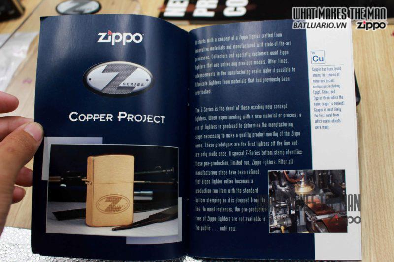 ZIPPO Z-SERIES COPPER PROJECT A – 2002 8
