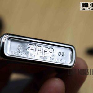 ZIPPO 2003 – KHẮC CNC KHẢM VÀNG 1