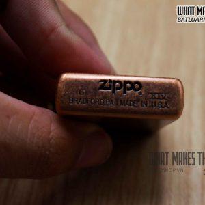ZIPPO LA MÃ 2000 – ANTIQUE COPPER – LIBERTY 1