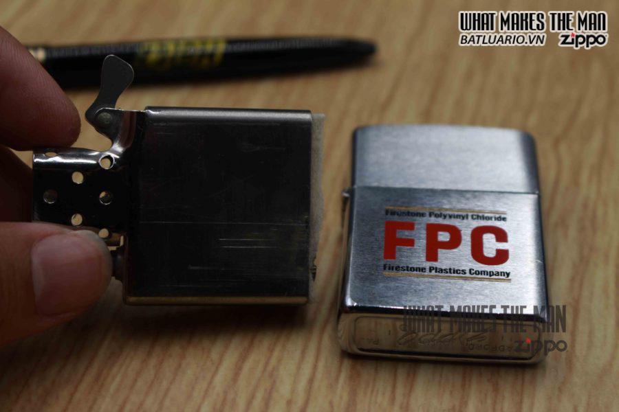 ZIPPO XƯA 1971 – FPC FIRESRONE PLASTICS COMPANY 6
