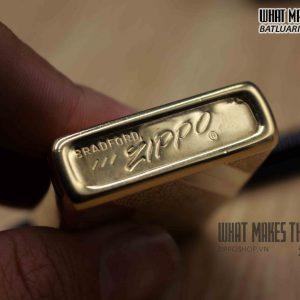 ZIPPO XƯA 1977 – GOLD PLATE 2