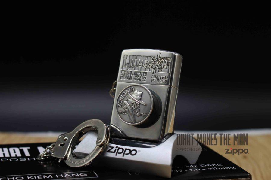ZIPPO XUẤT NHẬT - LA MÃ 1996 - MẠ BẠC - LUPIN II 30th ANNIVERSARY - LIMITED 3259 15