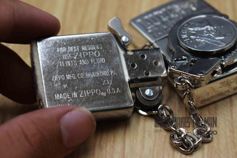 ZIPPO XUẤT NHẬT - LA MÃ 1996 - MẠ BẠC - LUPIN II 30th ANNIVERSARY - LIMITED 3259 4