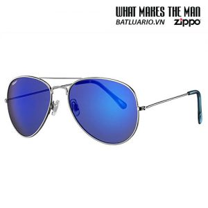 OB01-12 - Blue Flash Pilot Sunglasses