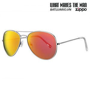 OB01-15 - Red Flash Pilot Sunglasses