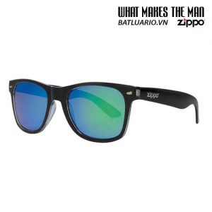 OB21-07 - Green Multicoating Classic Sunglasses