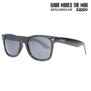 OB21-08 - Grey Classic Sunglasses With Polarized Lenses