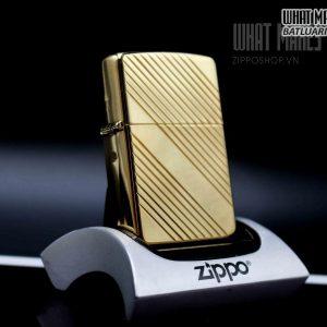 ZIPPO 1995 – GOLD PLATE 4