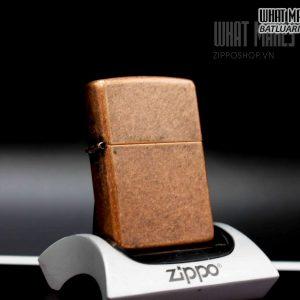 ZIPPO 2003 – ANTIQUE COPPER 2