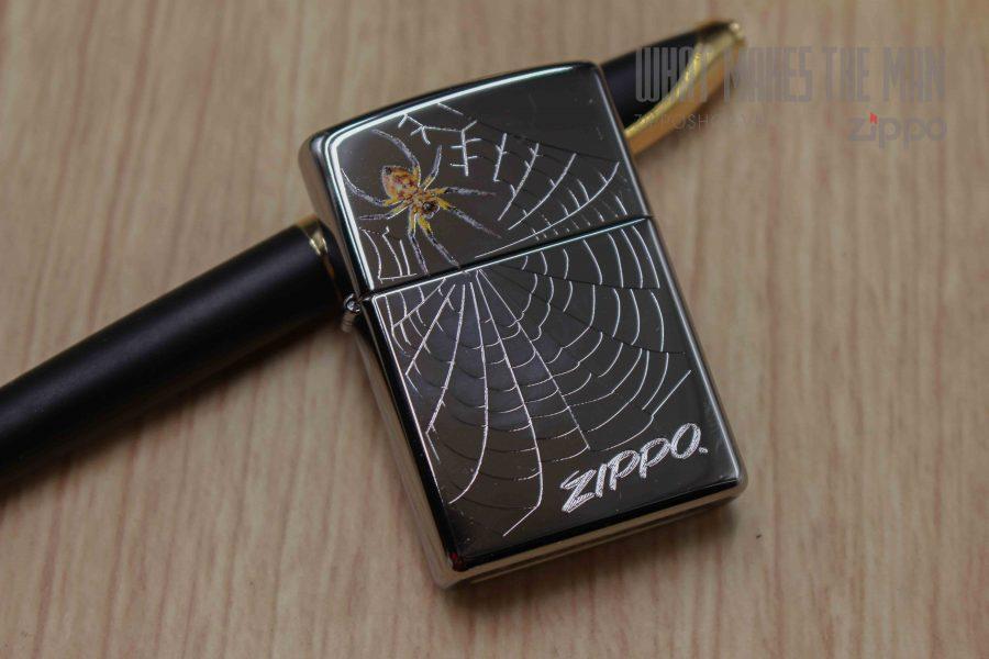 ZIPPO 250 SPIDER AND WEB 2