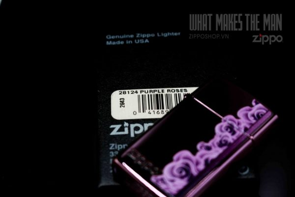 ZIPPO 28124 PURPLE ROSES 2