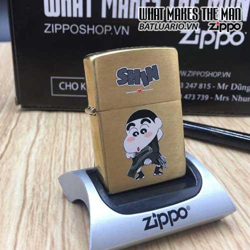 ZIPPO IN MÀU SHIN 01 - ZIPPO 204B.SHIN01