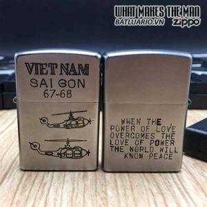 ZIPPO Việt Nam WAR 14 - Tái Bản 2017 - ZIPPO VNW14