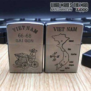ZIPPO Việt Nam WAR 15 - Tái Bản 2017 - ZIPPO VNW15