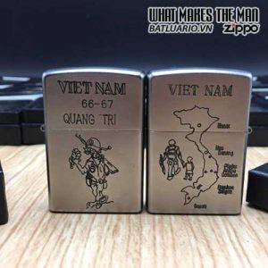 ZIPPO Việt Nam WAR 20 - Tái Bản 2017 - ZIPPO VNW20