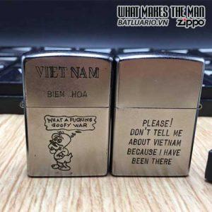 ZIPPO Việt Nam WAR 23 - Tái Bản 2017 - ZIPPO VNW23