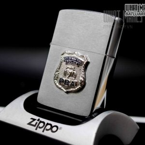 ZIPPO XƯA – 1963 – CITY OF NEW YORK POLICE PBA 2