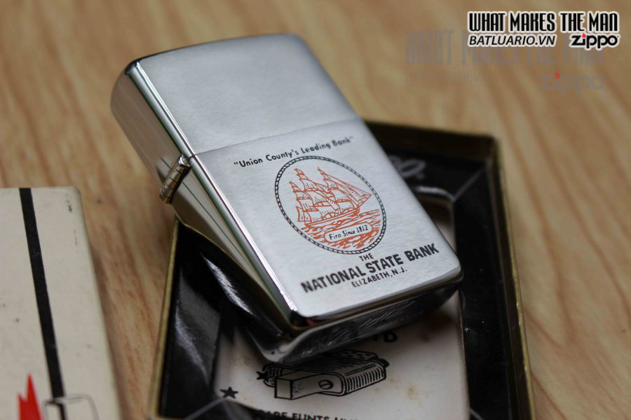 ZIPPO XƯA 1967 – NATIONAL STATE BANK 1