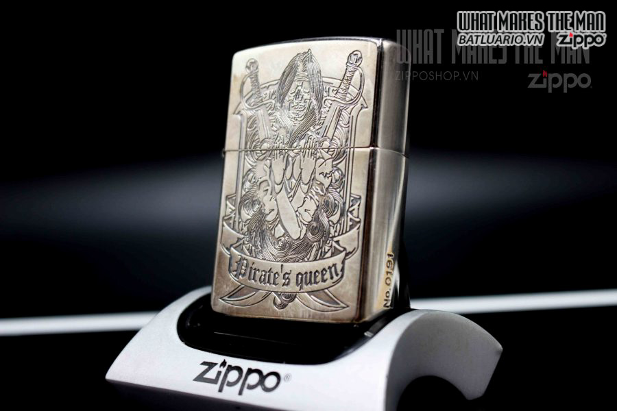 ZIPPO XUẤT NHẬT 2007 – PIRATE'S QUEEN LIMITED 0191 4
