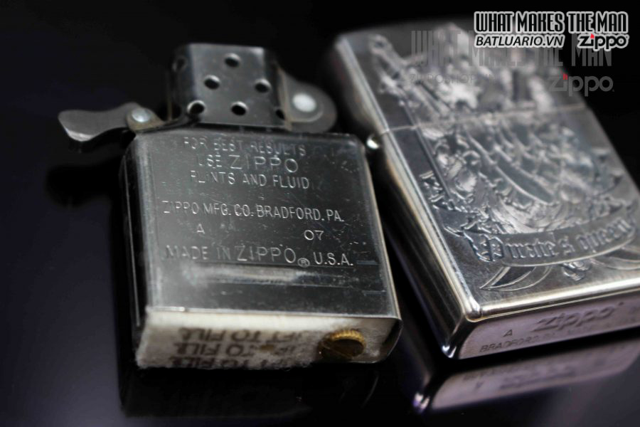 ZIPPO XUẤT NHẬT 2007 – PIRATE'S QUEEN LIMITED 0191 5