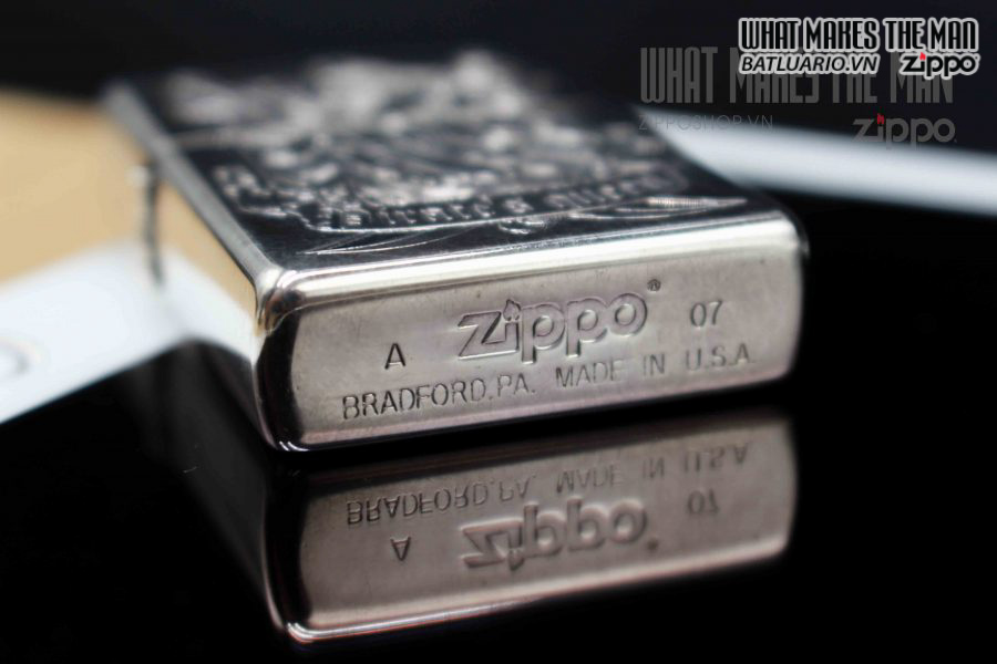 ZIPPO XUẤT NHẬT 2007 – PIRATE'S QUEEN LIMITED 0191 1