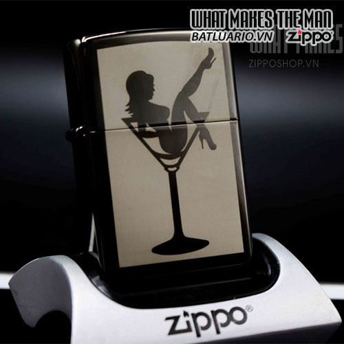 ZIPPO 150 LADY IN COCKTAIL GLASS