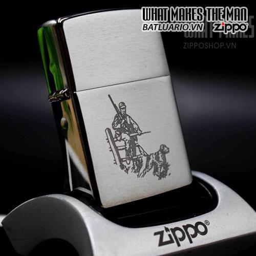 ZIPPO 200 HUNTER AND DOG