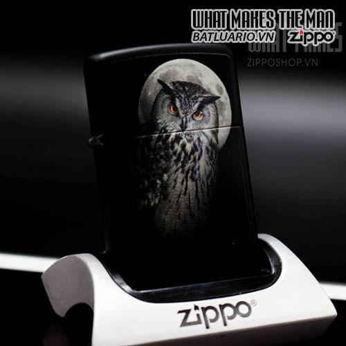 ZIPPO 218 OWL AND MOON