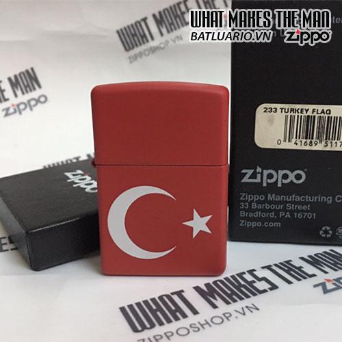ZIPPO 233 TURKEY FLAG