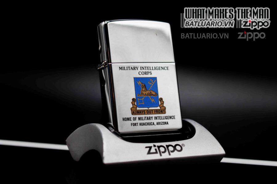 ZIPPO 2002 – MILITARY INTELLIGENCE CORPS 3