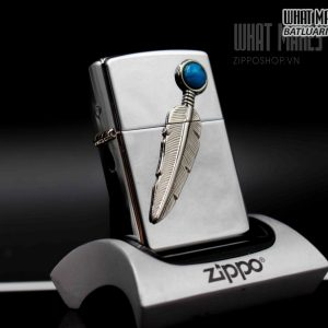 ZIPPO LA MÃ 1997– INDIAN FEATHER 4