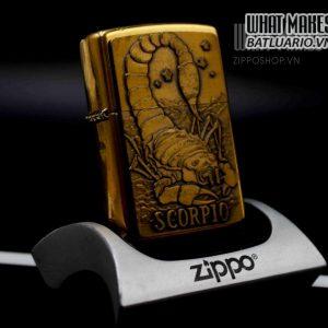 ZIPPO LA MÃ 1998 – ZODIAC SCORPIO 4