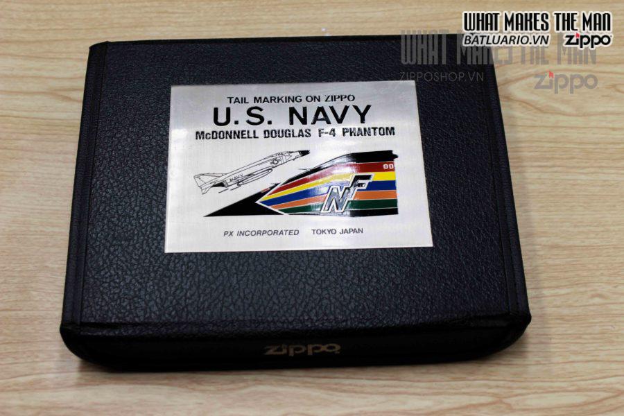 ZIPPO SET – U.S. NAVY F4 PHANTOMS & U.S. NAVY GRUMMAN A6 10
