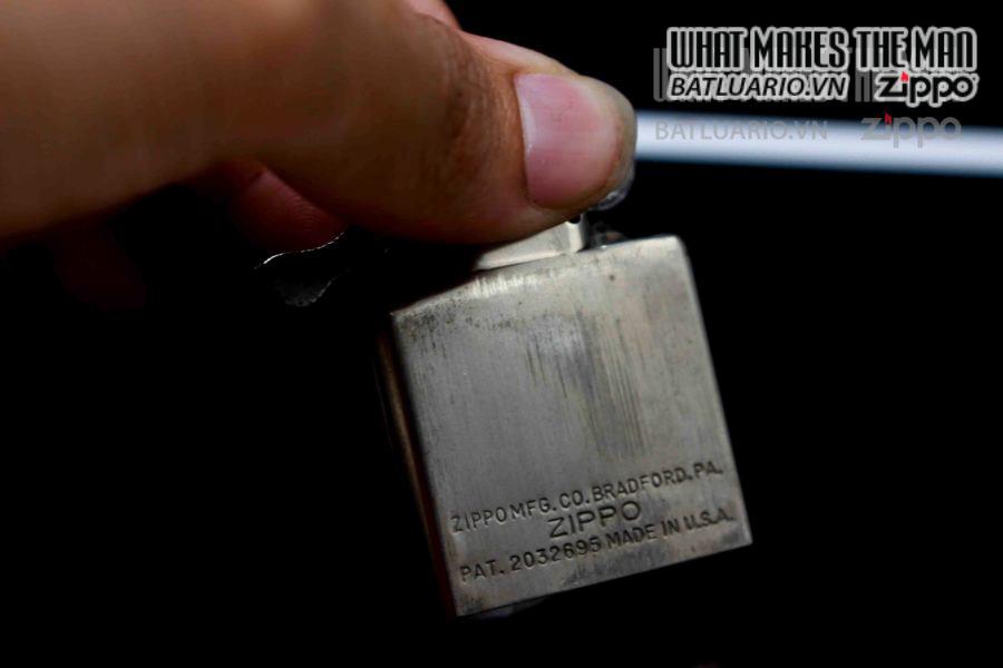 ZIPPO XƯA 1946-1947 – FULL NIKEL – PLAIN 1