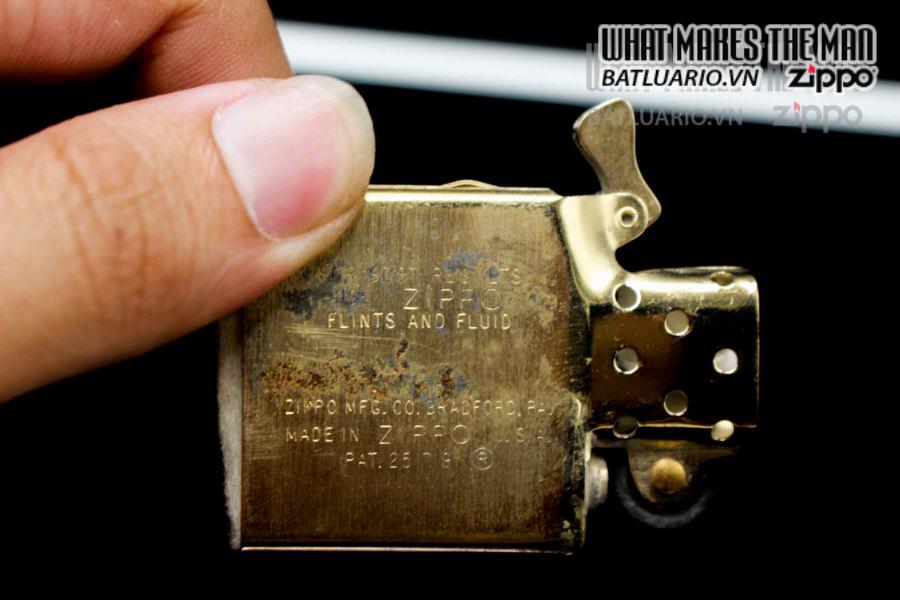 ZIPPO XƯA 1960S – 10K GOLD FILLED – LYNDON B JOHNSON 2