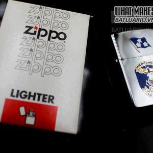 ZIPPO 1982 – UNITED STATES SEVENTH FLEET MILITARY NAVY 6