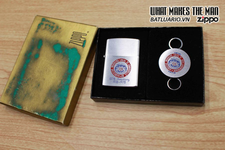 ZIPPO GIFT 1978 – ASBESTOS WORKERS LOCAL 51 8