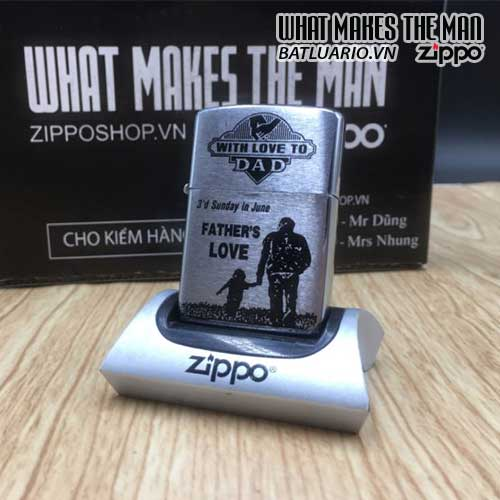 ZIPPO KHẮC FATHER'S LOVE – ZIPPO 200.FATHERLOVE