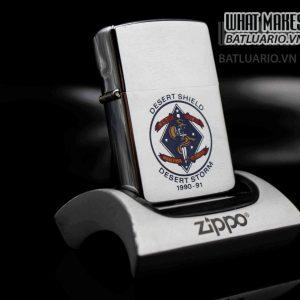 ZIPPO LA MÃ 1991 – DESERT SHIELD – DESERT STORM 6