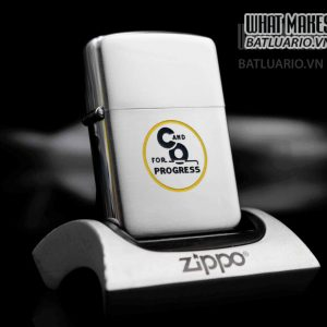 ZIPPO XƯA 1953-1955 – C AND O FOR PROGRESS 5