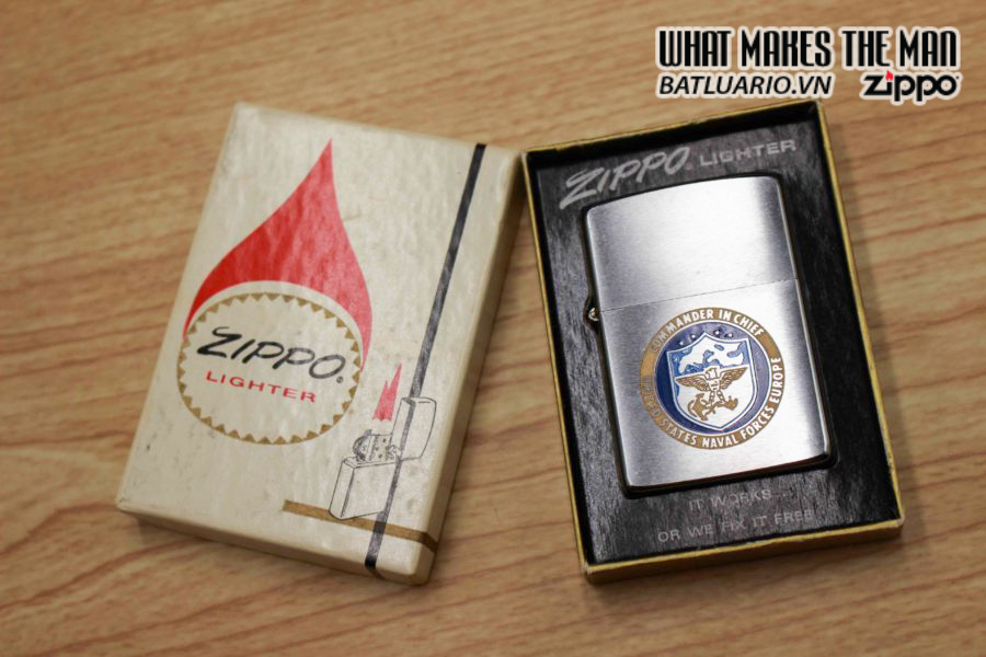 ZIPPO XƯA 1978 – UNITED STATES NAVAL FORCES EUROPE – COMMANDER IN CHIEF 1