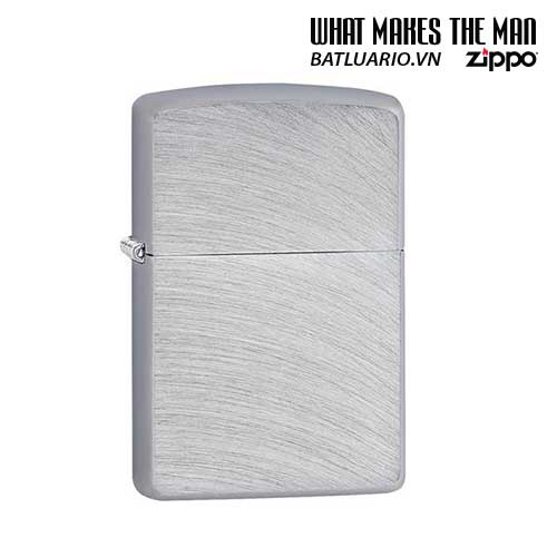 BẬT-LỬA-ZIPPO-24647-ZIPPO-CHROME-ARCH-BRUSHED-CHROME