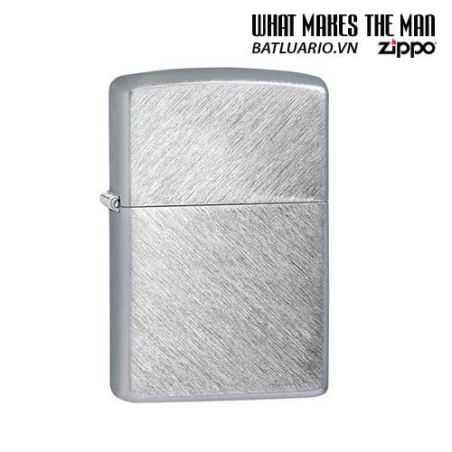 ZIPPO 24648 – ZIPPO HERRINGBONE SWEEP BRUSHED CHROME
