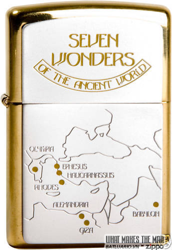 ZIPPO SEVEN WONDERS LIMITED EDITION SET 4