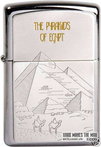 ZIPPO SEVEN WONDERS LIMITED EDITION SET 8